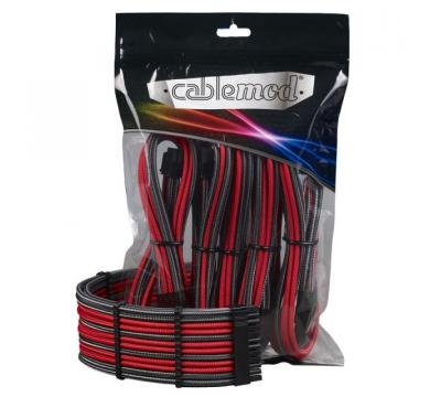 CableMod PRO ModMesh Cable Extension Kit - CARBON / RED