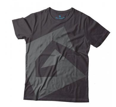 GplayTV тениска с лого черна V3