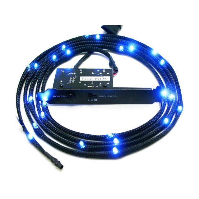 NZXT Sleeved LED Kit 1m Blue