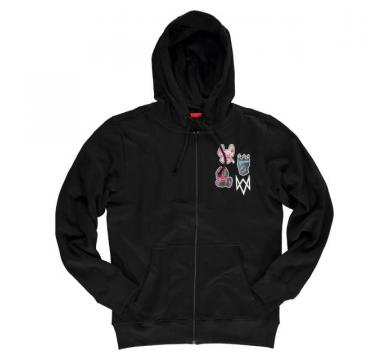 Watch Dogs: Legion - Men's Zipper Hoodie