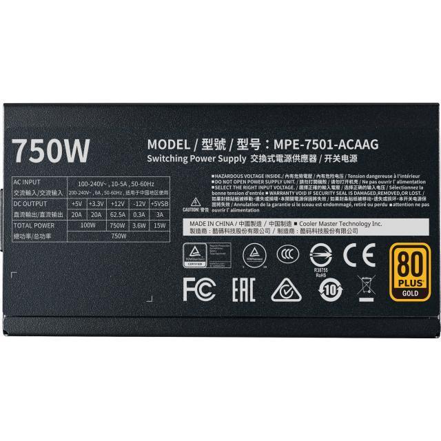 Cooler Master MWE Gold 750W V2 Full Modular