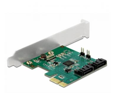 Delock SATA PCI Express Card - 2 ports