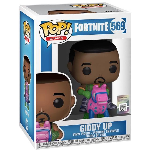 Funko POP! Games: Fortnite - Giddy Up #569