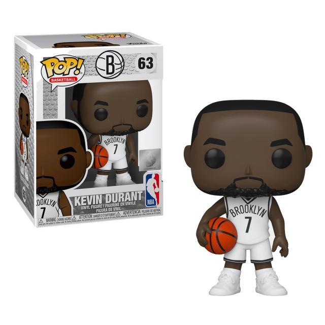Funko POP! Basketball NBA: Brooklyn Nets - Kevin Durant #63
