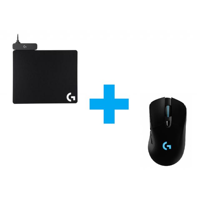 Logitech G703+Powerplay Pad