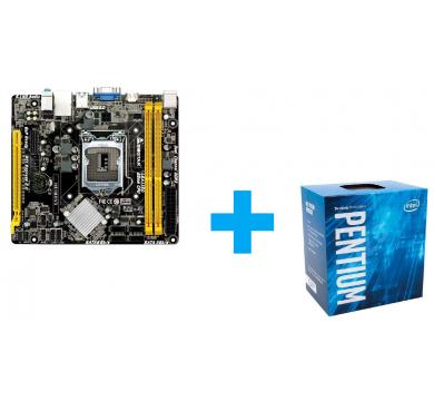 BIOSTAR H81MHV3 + Intel Pentium G3260