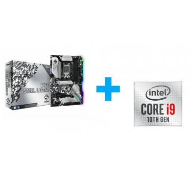 ASRock Steel Legend + Intel Core i9-10900 Tray