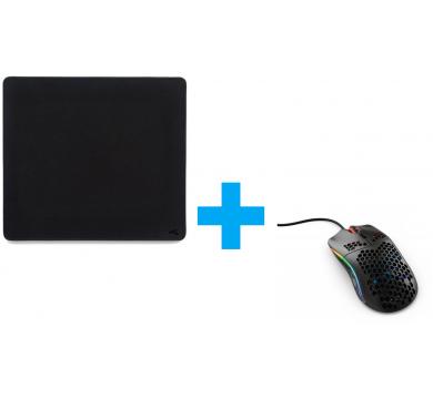 Glorious Model O (Matte Black) + XL Stealth Mousepad
