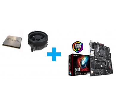 AMD Ryzen 5 3400G MPK + GIGABYTE B450 Gaming X