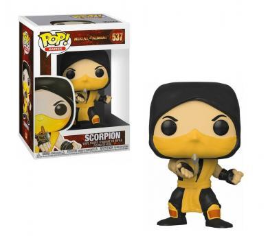 Funko POP! Games: Mortal Kombat - Scorpion #537