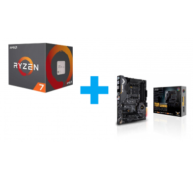 AMD Ryzen 7 3700X + ASUS TUF GAMING X570-PLUS