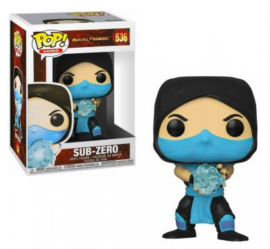 Funko POP! Games: Mortal Kombat - Sub-Zero #536