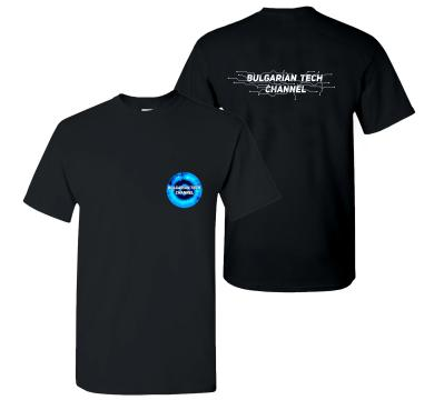 Тениска Bulgarian Tech Channel