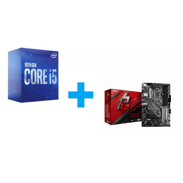 Intel Core i5-10600 + ASRock B460 Phantom Gaming 4