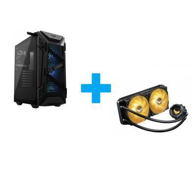 ASUS TUF GAMING GT301 + ASUS TUF GAMING LC 240 RGB