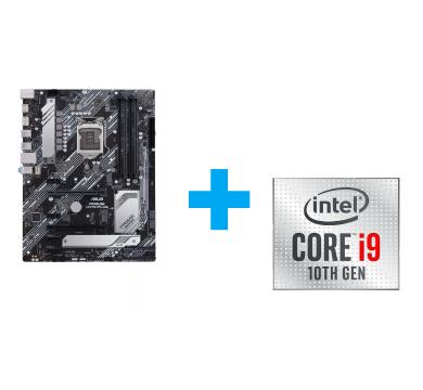 ASUS PRIME H470-PLUS + Intel Core i9-10900 Tray