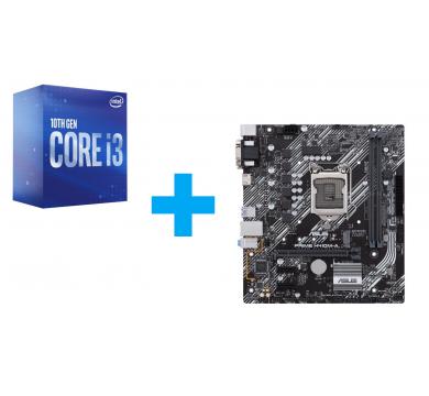 Intel Core i3-10100 + ASUS PRIME H410M-А